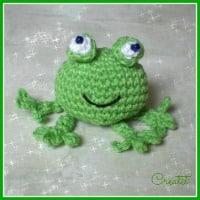 Milo the Frog | Grenouille en crochet, Poupées en crochet, Tricot ... | 200x200
