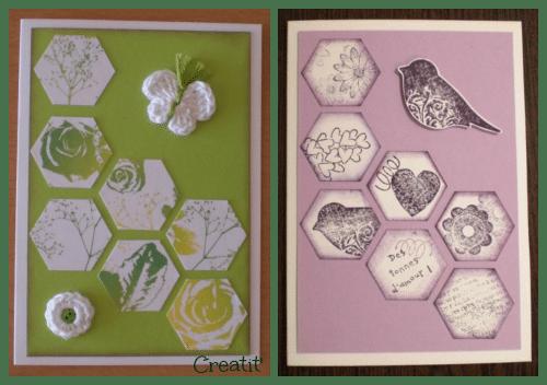 Cartes hexagones
