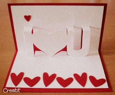 carte pour mon valentin