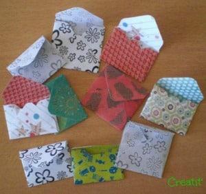 mini enveloppes