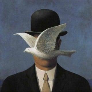 LHOMME-AU-CHAPEAU-MELON-1964 magritte ST