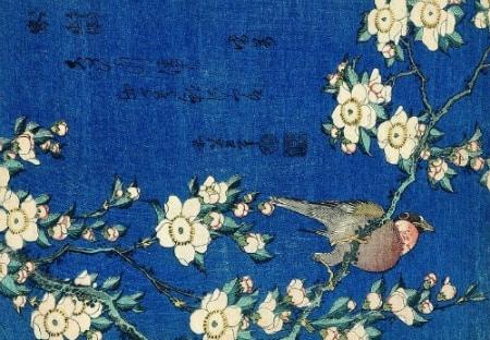 Série des Petites Fleurs  Katsushika Hokusai 1834