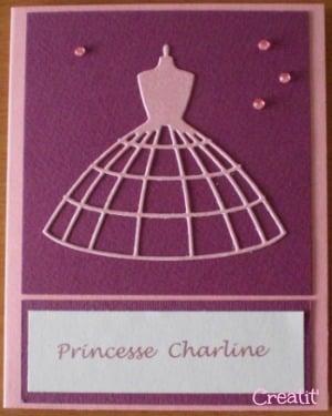 une carte pour Charline